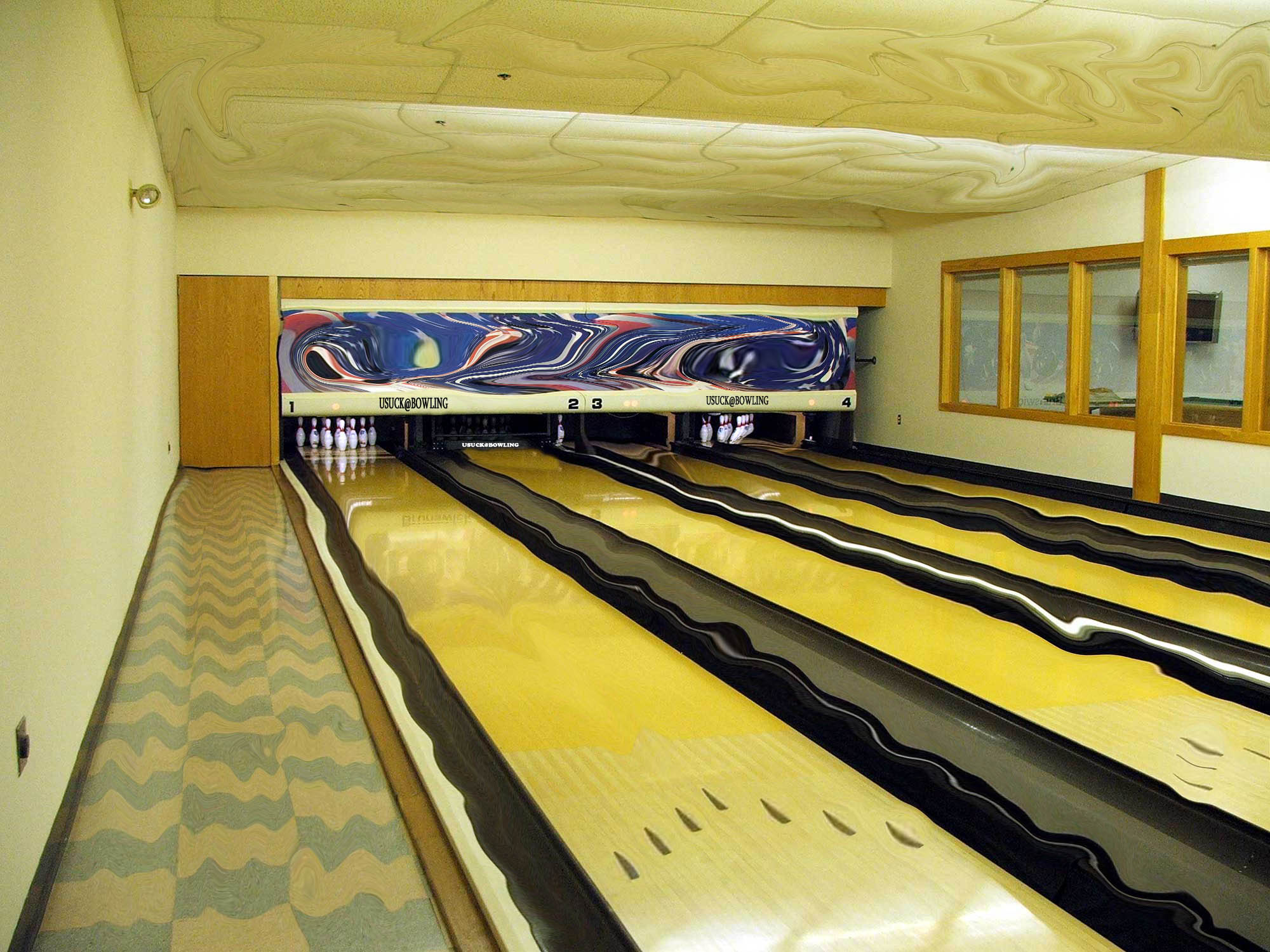 This Photoshop Contest Is Now Closed Creatives Participated - Bowling map para minecraft 1 10