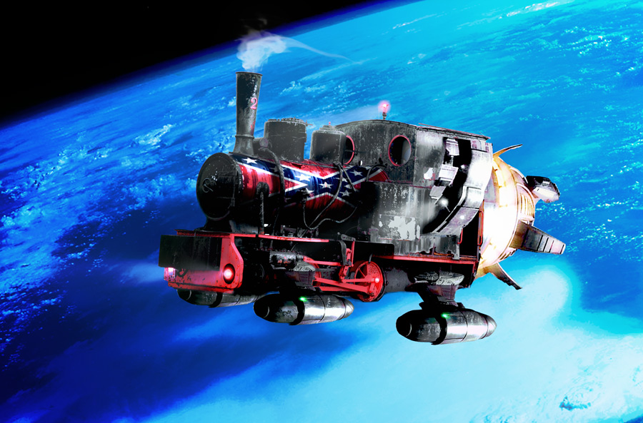 Photoshop Submission for 'Redneck Space Race 3' Contest ...