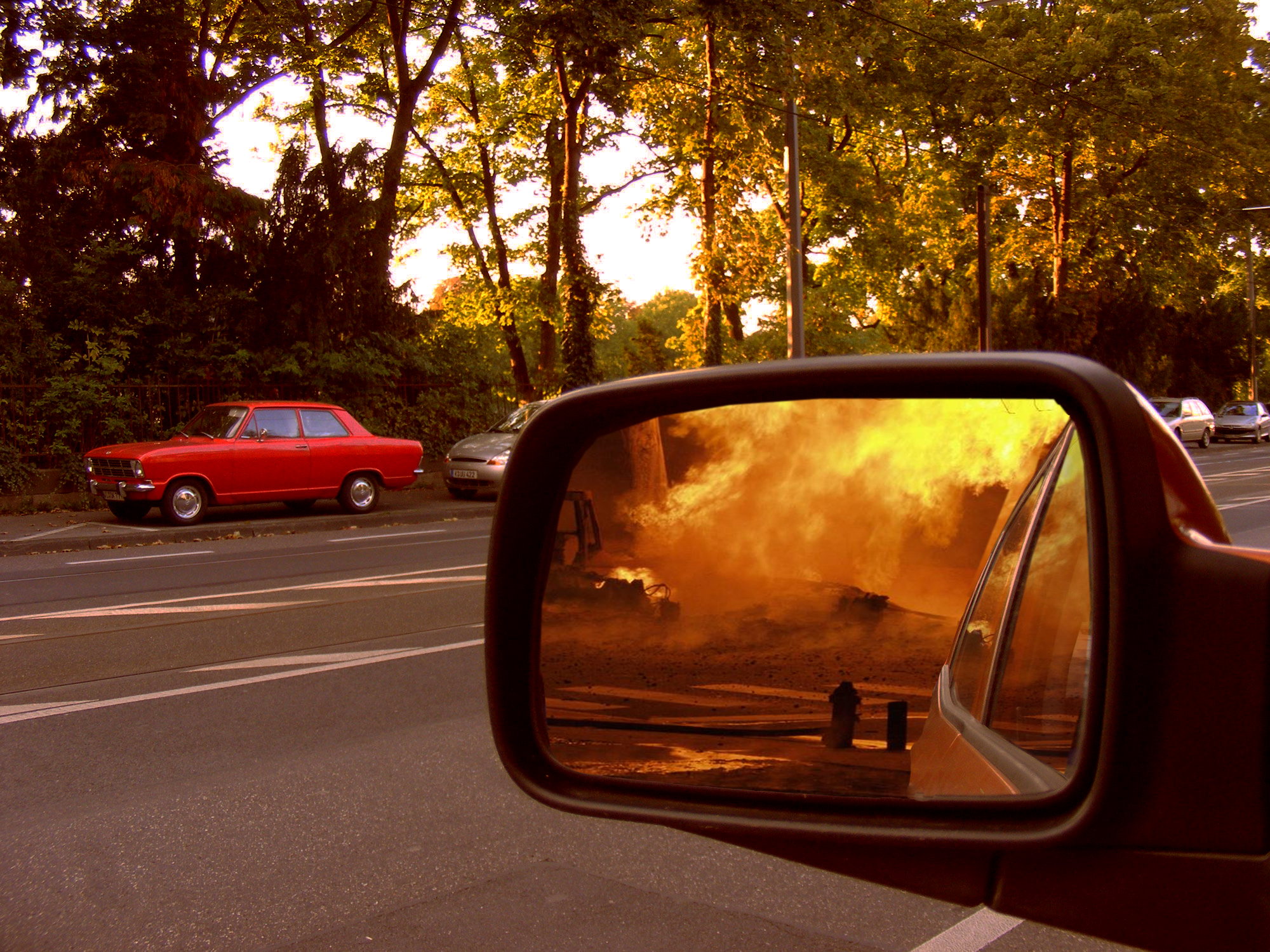 Photoshop Submission For Rear View Mirror Contest Design 8921162