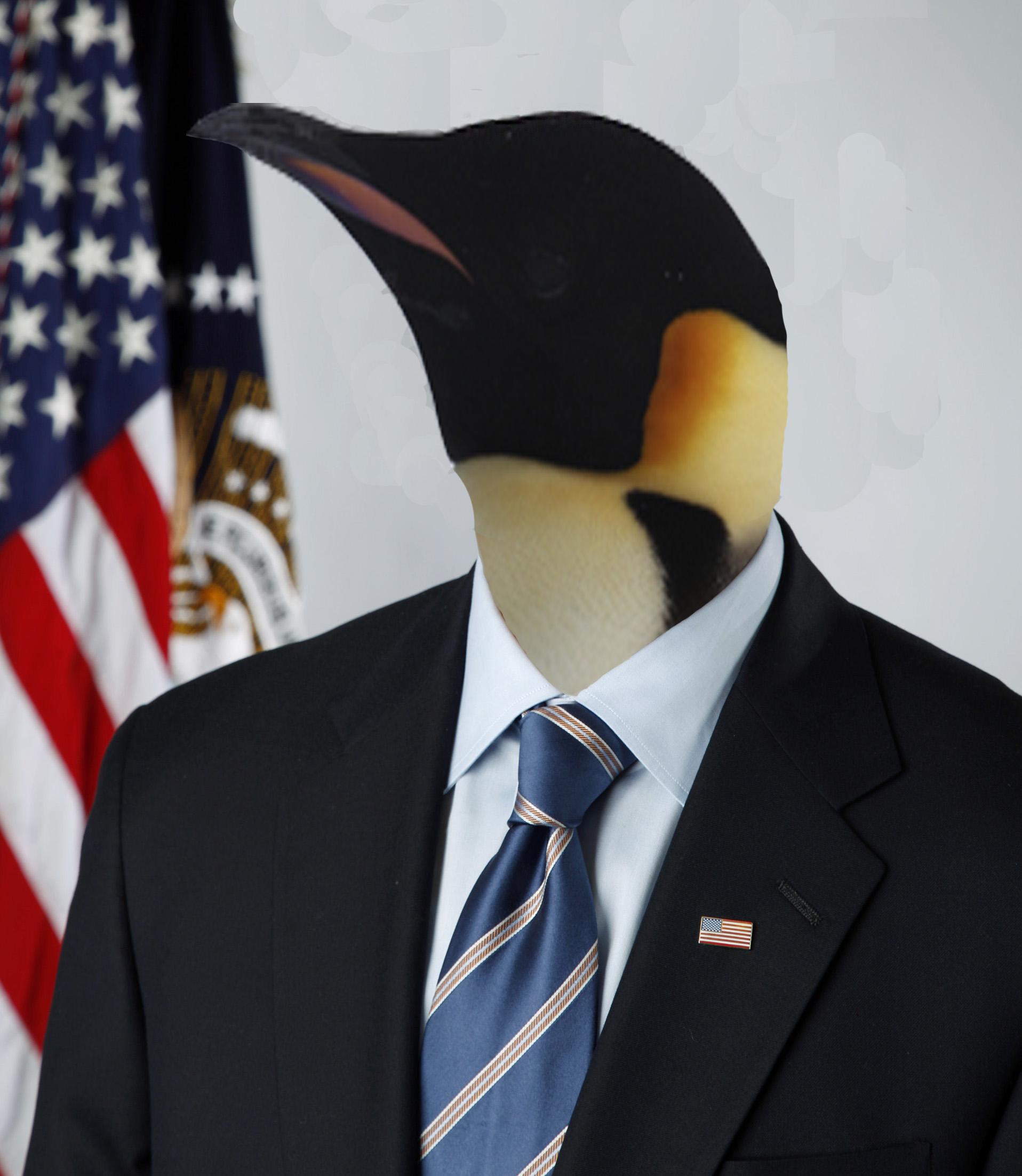 Photoshop Submission for 'Penguins 10' Contest   Design