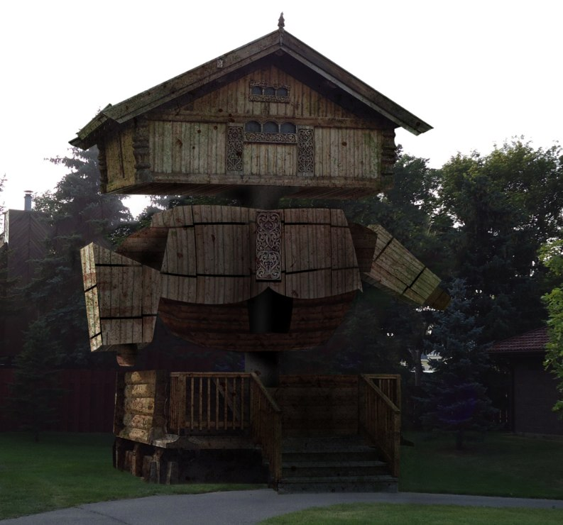 Photoshop Submission for 'Viking House' Contest | Design #8870781