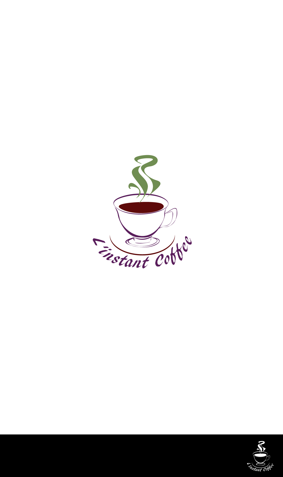 Logo Submission For 39 L 39 Instant Coffee 39 Contest Design